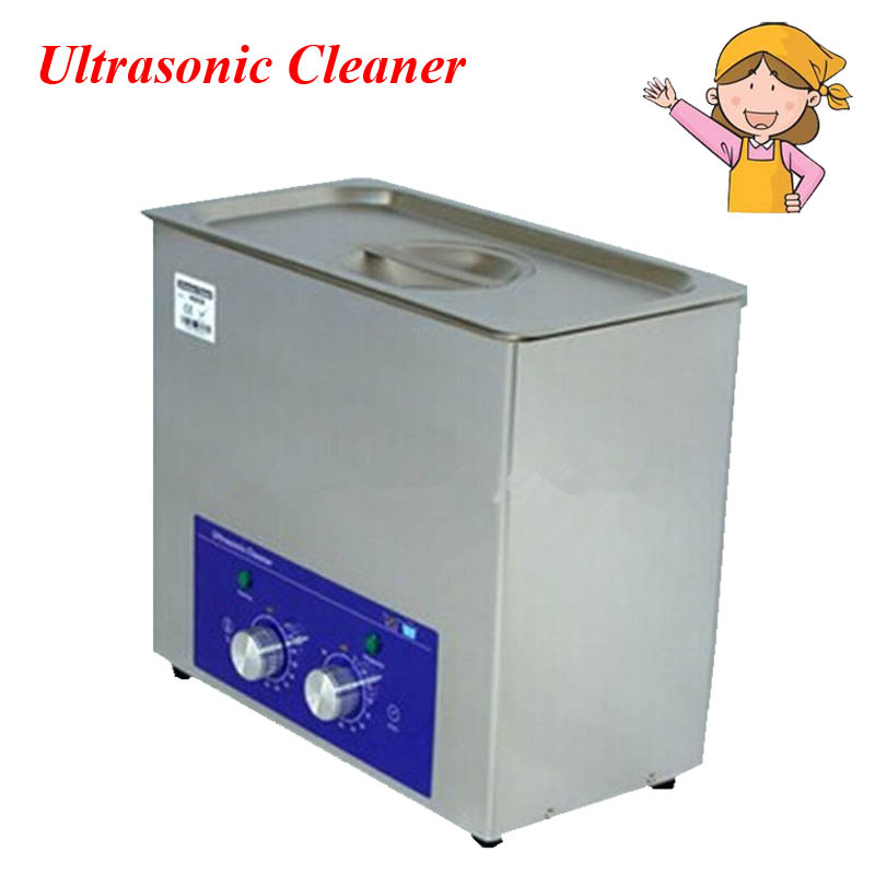 1pc 6L ultrasonic cleaner machine with timer and temperature controller heated generator DT-MH60 9 pcs cross head flat head slotted tip screwdriver set magnetic phillips slotted plastic handle convenient bag repair tools