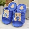 Бесплатная доставка девочка обувь 2016 новый летний дом занос тапочки мультфильм мальчиков резиновой обуви мода резиновой обуви для детей