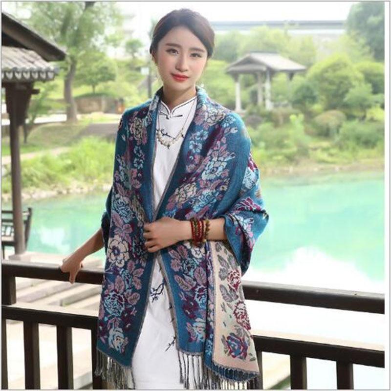Fashion female scarf new 2016 autumn and winter ethnic scarves Korea cotton linen shawl long paragraph