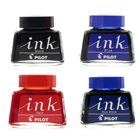 Pilot Fountain Pen Ink Black/Blue/Red 30ml Non carbon for 78G 88G FP 50R FKA 1SR Smooth Fast Dry Ink 30
