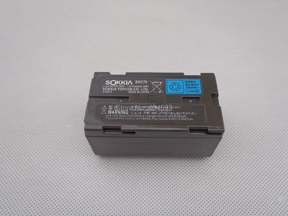 Batteria Samsung SOKKIA / TOPCON BDC70 Batteria agli ioni di litio - Strumenti di misura - Fotografia 2
