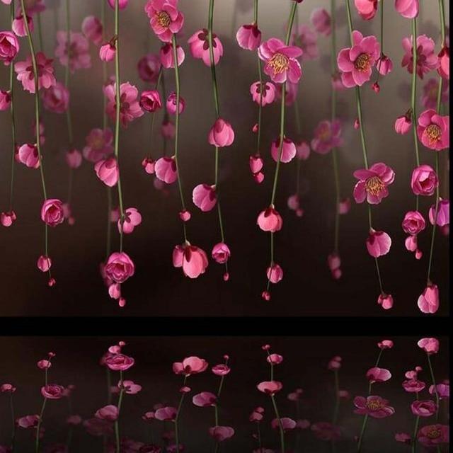 3d Papel De Parede Flor De Cerejeira Japonesa Murais De Fotos Bela