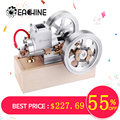 Eachine ET1 STEM Upgrade Hit & Miss Gas Motor Stirlingmotor Model Verbrandingsmotor Collectie DIY Project