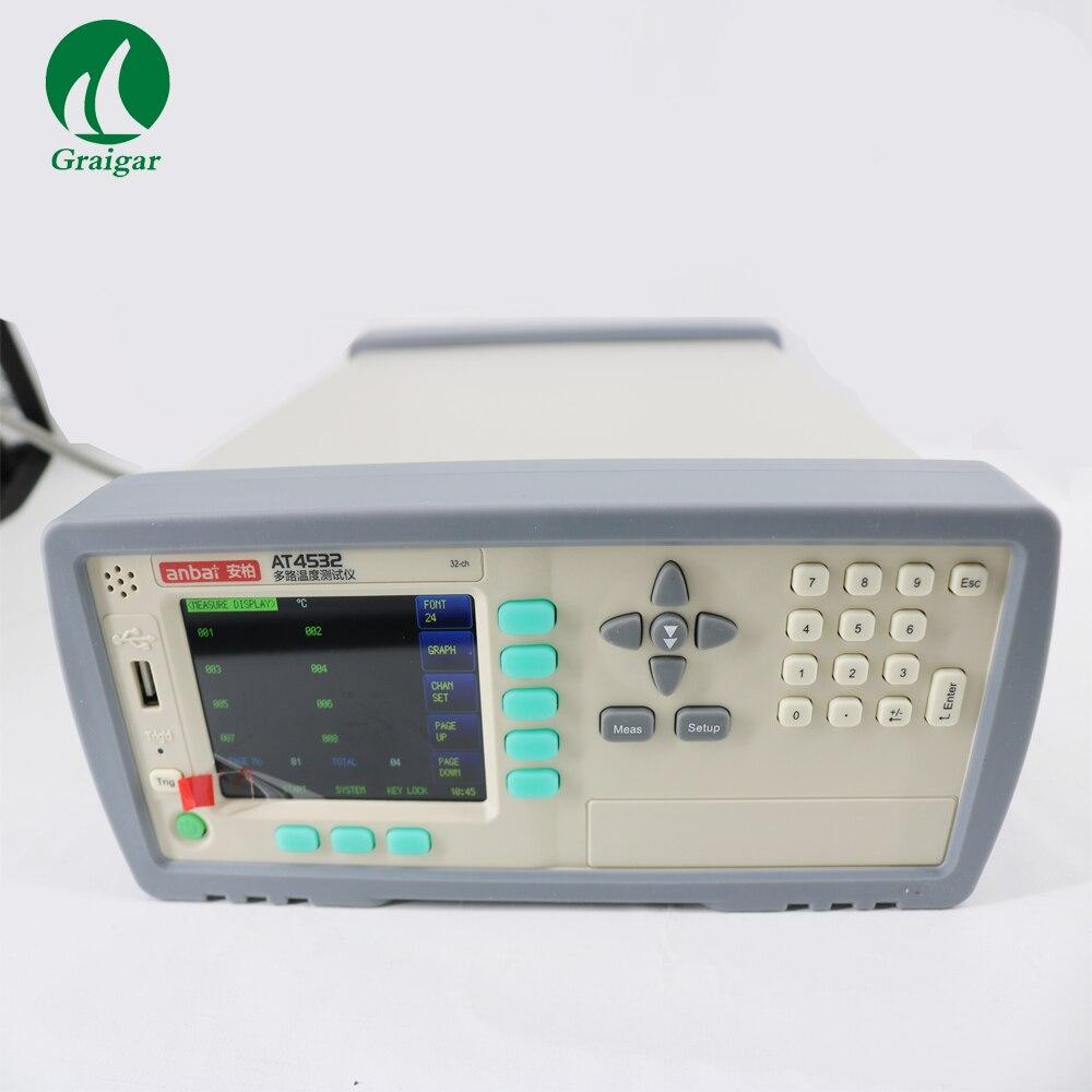 Nouveau AT4532 Température Mètre 32 Canaux Température Thermomètres avec Expédition Rapide