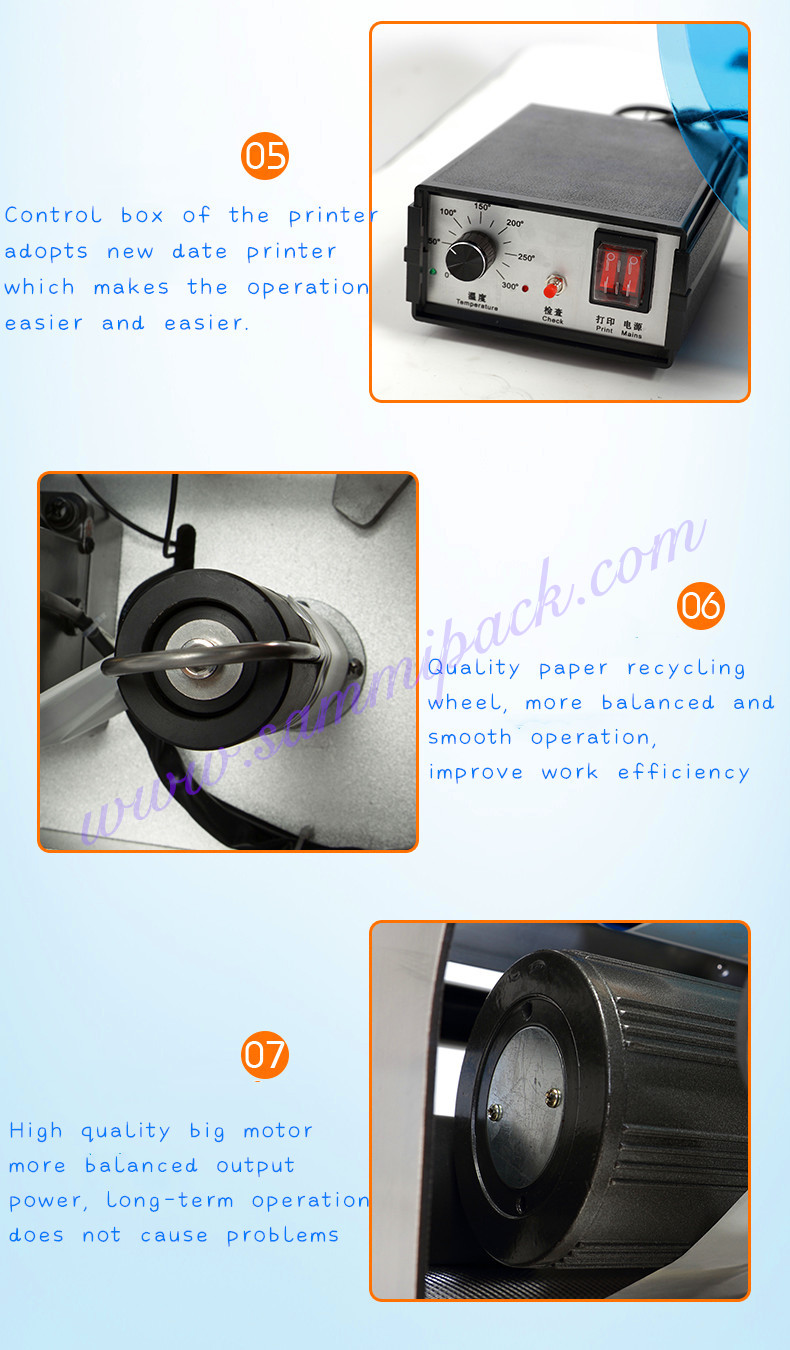 Mini 10ml Fles Etiketteermachine met Datum Codering Machine - 5