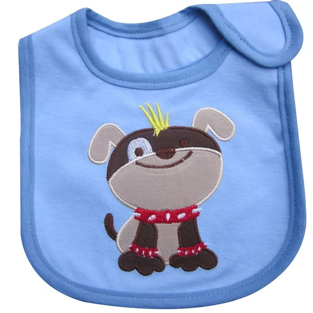 AGLDI Neonatal Baby bibs fashion Toddler Infant burp cloths Suitable for boy girl waterproof cotton Accessories bib