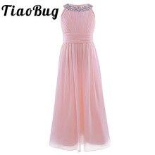 Женское шифоновое платье макси, длинное праздничное платье в пол с цветами, платье принцессы для дня рождения и первого причастия, лето 2020