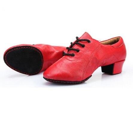 Chaussures latines femme cuir fond souple femme adulte deux semelles salle de bal chaussures de danse en cuir professeur chaussures de balle effectuer