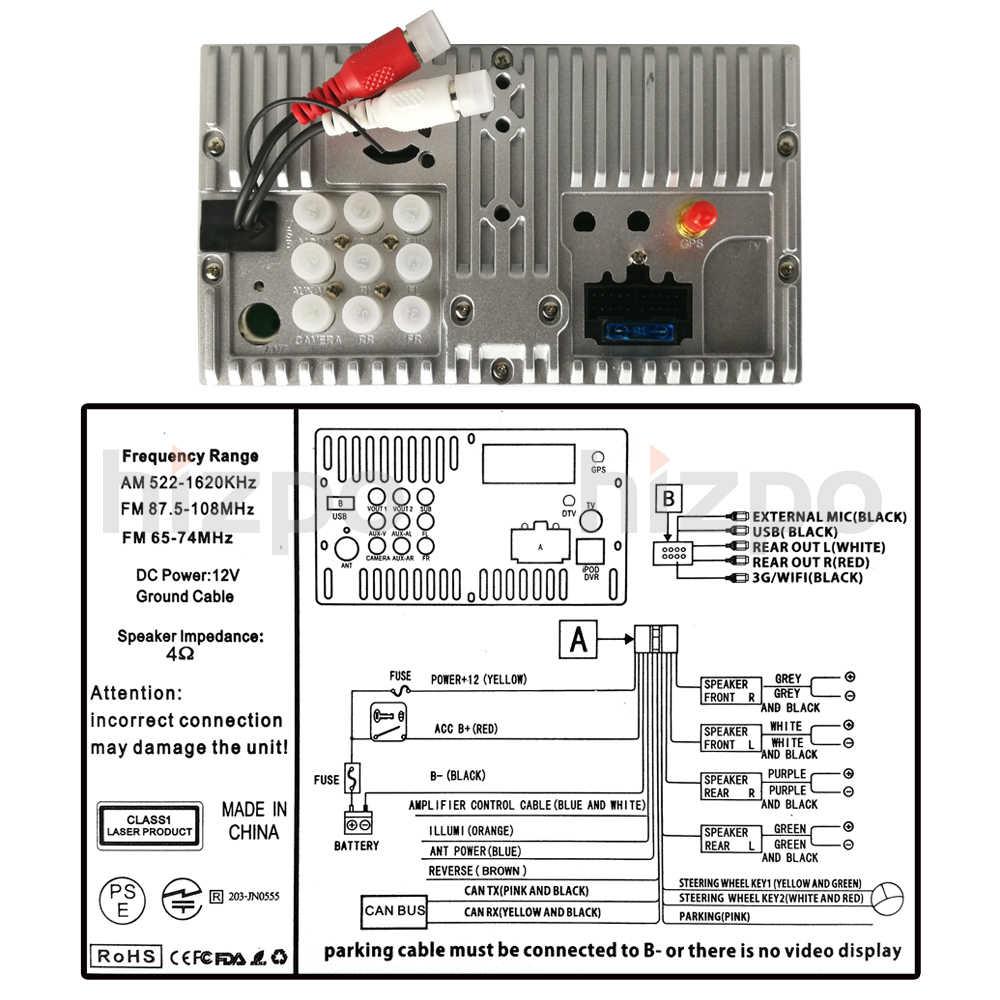 D40 Head Unit Wiring Diagram