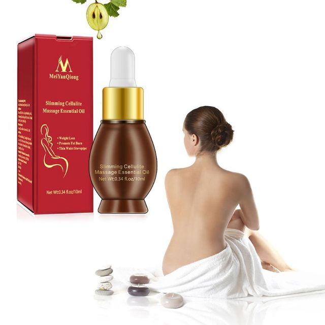 Essential Oil for Fat Burning Massage