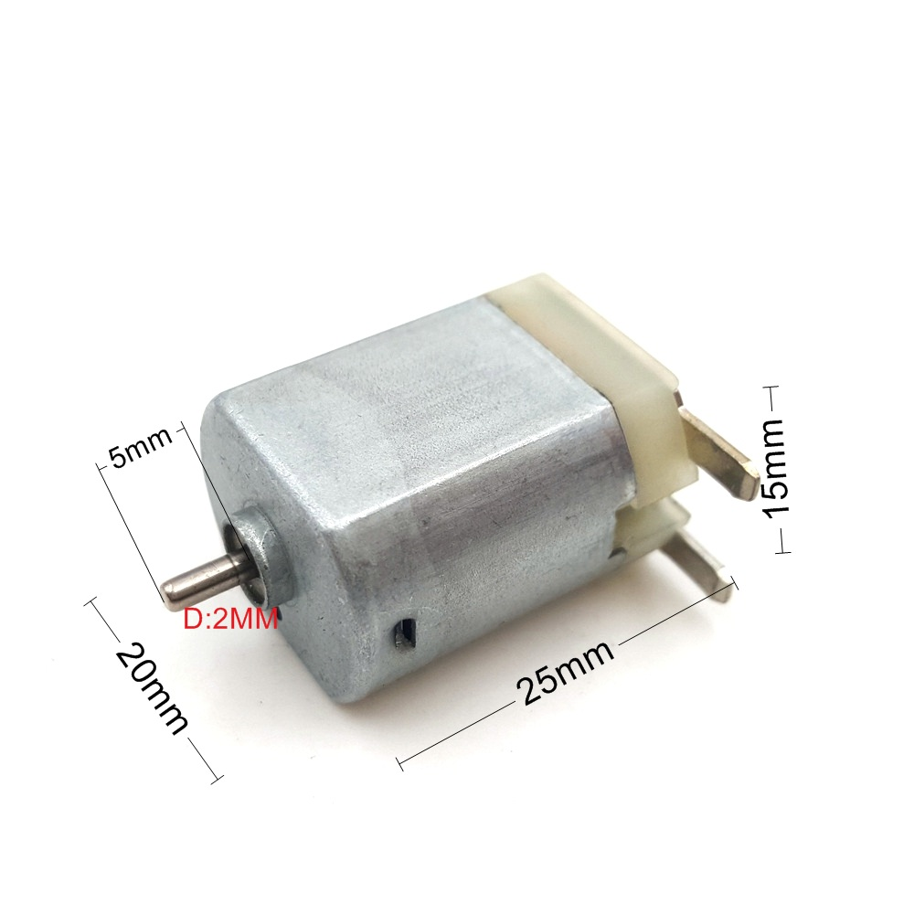 1 шт. DC 6V 12V 130 все металлические микро мотор игрушка мотор для DIY игрушки хобби умный автомобиль