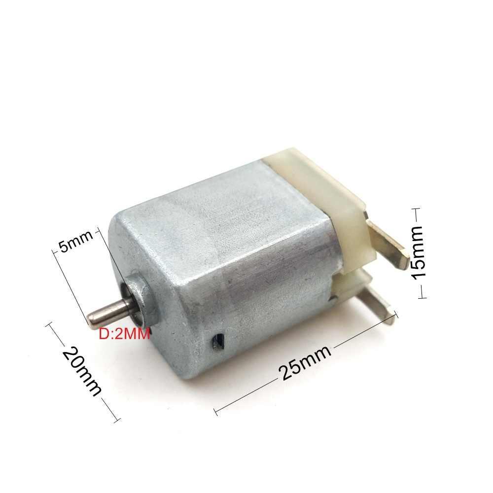 1 PC DC 6 V 12 V 130 tout métal Micro moteur jouet moteur pour bricolage jouets loisirs voiture intelligente