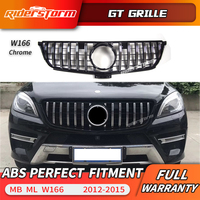 For Mercedes Benz ML Class W166 GT grille Front Grille FOR ML class ML250 ML300 grille front bumper w166 grill