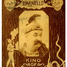 Pósteres Vintage de circo Barnello rey de los reyes del fuego pinturas clásicas en lienzo pósteres de pared Vintage pegatinas decoración del hogar regalo