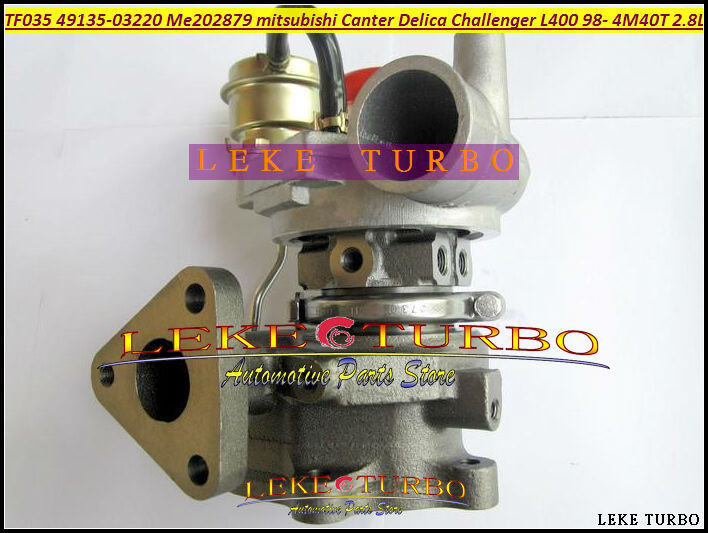 Turbo TF035-2 49135-03220 49135 03220 ME202879 Turbocharger For MITSUBISHI Challenger L400 Canter Delica 4M40 4M40T 2.8L 140HP лодка intex challenger k1 68305
