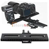 100 New Fotomate LP 02 2Way Macro Focus Focusing Rail Slider Plate Fo DV Camcorder DSLR