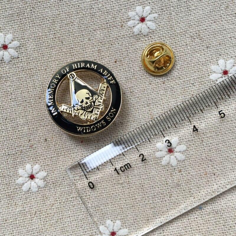 Ev ve Bahçe'ten İğneler ve Rozetler'de 100 adet Özel Masonik Regalia Kafatası ve Crossbones Kare ve Pusula Yaka Pin Ücretsiz Masonlar rozet pimleri Windows Son Emaye Broş'da  Grup 1