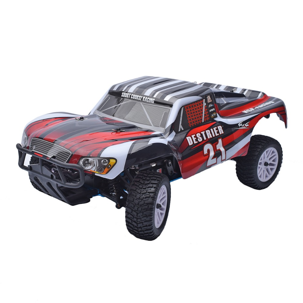 HSP 1 10 Scale 2 4GHz RTR 18cxp Nitro Gas 4WD Radio Remote Control RC Short