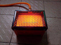 Home indoor outdoor portable gas infrared heater camping gas heater infrared heating gas heater Winter camping fishing heater
