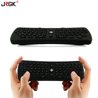 JRGK 2.4Ghz Wireless 6 Axis T6 Gyroscope Air Mouse Keyboard Remote Control for PC/Smart TV/Android TV Box/Windows/MAC/Linux OS