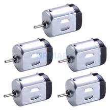 5Pcs Micro 130 6V DC Small Motor for DIY Model Toy Car Aircraft Boat Silver(China)
