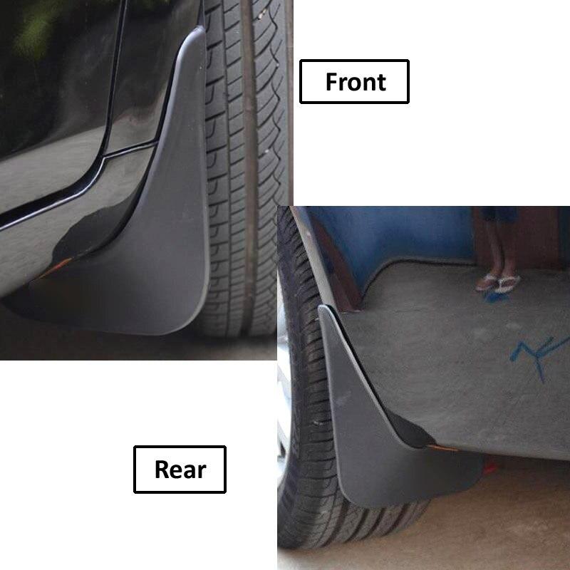 Литые Автомобильные Брызговики для Geely Emgrand EC7 4-Dr Sedan 2012 2013 Брызговики