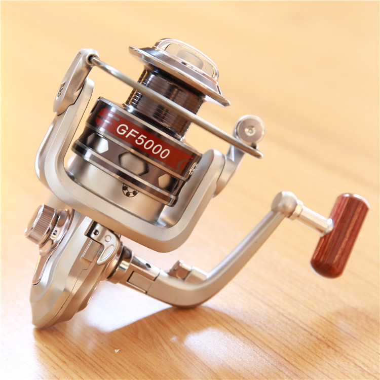 Metal Spool Fishing Reel 12BB 1000 - 7000 series spinning reel Carretilha Pesca Wheel fishing reels
