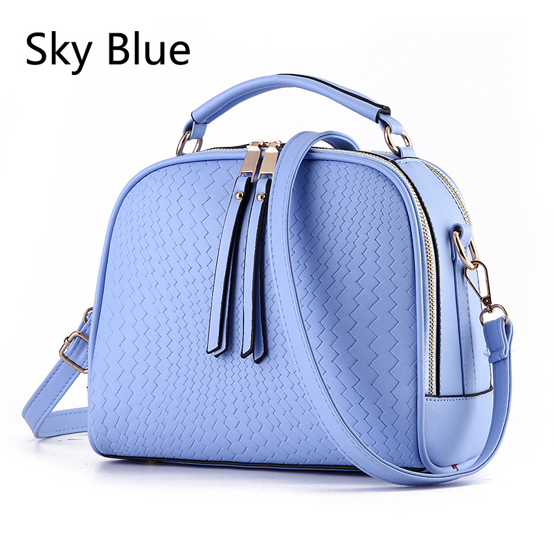 Women Top-handle Bags Flap Crossbody Bags Women Leather Small Handbags Fashion Female Solid Tote Ladies Shoulder Bag #14To31/9-2