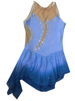sexy ice skating dresses blue women figure skating clothing hot sale figure dresses for girls hot sale new brand