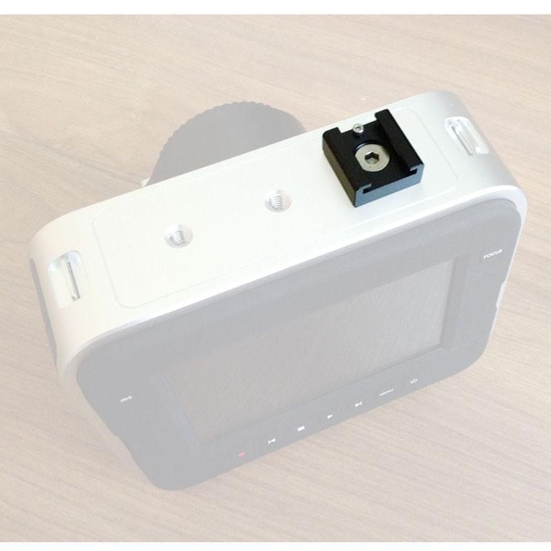 2PCS Cold Hot Shoe Hotshoe Adapter fr DSLR Rig Flash Light Microphone Blackmagic Cinema Foto Camaras Parts Accessories C0993 (3)