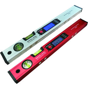 Digital Protractor Magnets-Level Inclinometer Test-Ruler Angle-Finder 400mm 360-Degree