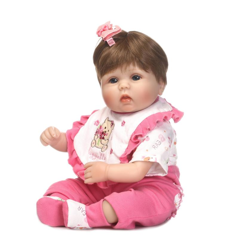 High Quality 40cm Reborn Baby Dolls Soft Newborn Baby Girl With Red Clothes For Kids Birthday Gifts BonecasHigh Quality 40cm Reborn Baby Dolls Soft Newborn Baby Girl With Red Clothes For Kids Birthday Gifts Bonecas