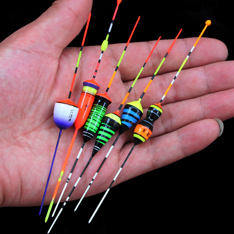 3pcs/lot Fishing Floats Shrimp Floaters Ice Fishing Bobbers Fresh Water Balsa Light Wood Fishing Tackle Accessory More Gifts