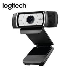 מקורי Logitech C930c HD חכם 1080P מצלמת אינטרנט עם כיסוי עבור מחשב Zeiss עדשת USB וידאו מצלמה 4 זמן דיגיטלי זום מצלמת אינטרנט