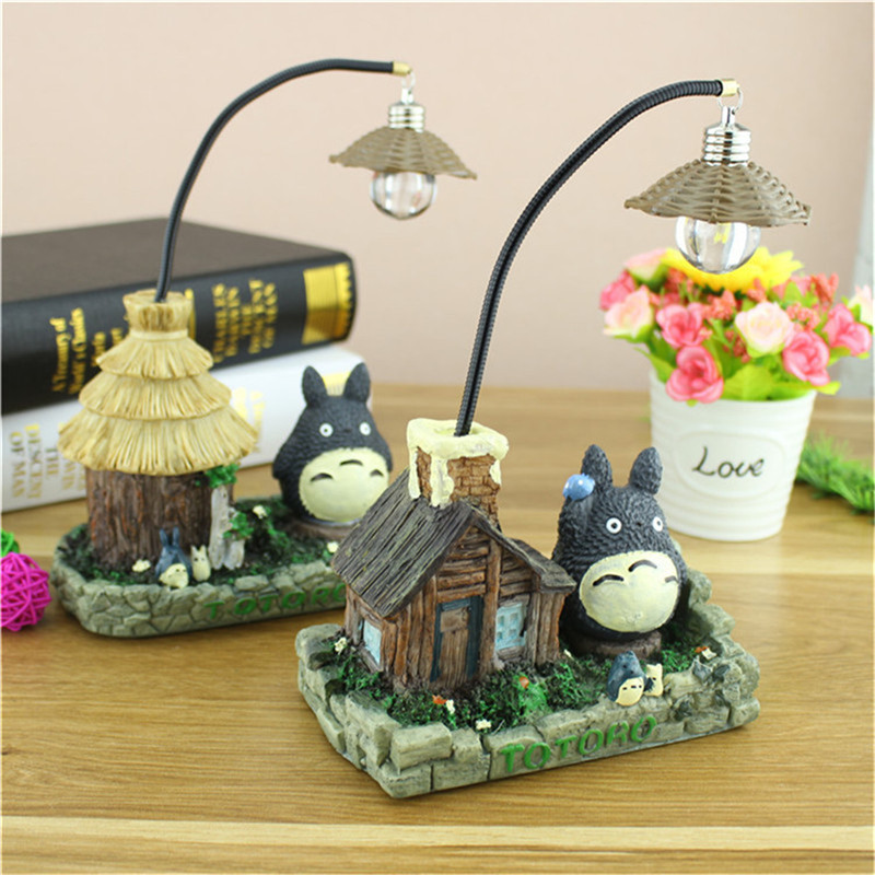 CHENGYILT Night Lights Novelty Totoro night lamp for home decoration baby bedroom table lamp kids light