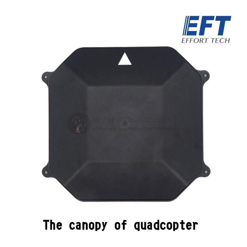 EFT agriculture drone ABS canopy for DIY quadcopter and hexacopter agriculture drone frame все цены