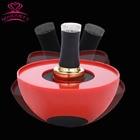 Makartt USA Stock Red Semi-Circle Ladybug Creative Nail Polish Holder Manicure Polish-Free Spoilt Nail Holder Tools USF0368