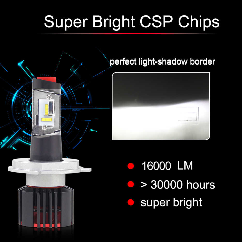 detail feedback questions about braveway csp chip h7 led canbus h4braveway csp chip h7 led canbus h4 led bulbs for cars 16000lm 100w 9005 9006 h7