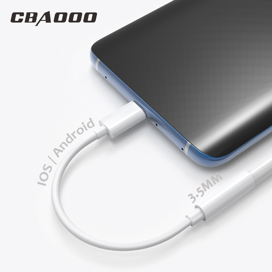 3.5mm Audio Adapter For IPhone Type C Earphone Headphone Jack Converter USB-C Type-C Music AUX Cable For Samsung Huawei Xiaomi