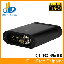 Full HD 1080 P HDMI 1080I SDI Video Capture Card USB3.0 Dongle HD Video Audio Grabber de Captura de jogo USB Para Windows, Linux