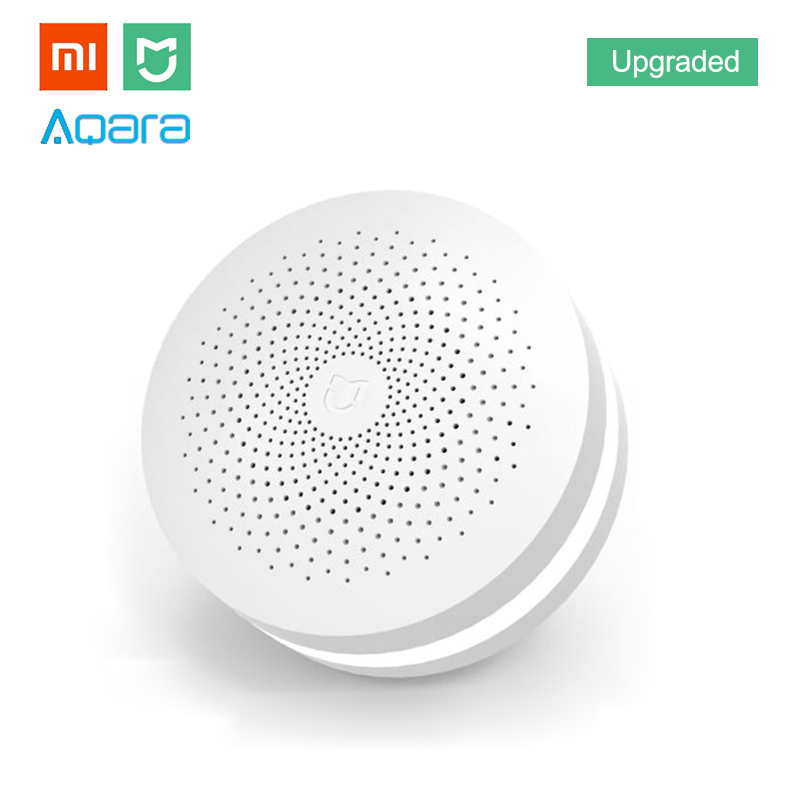 Xiaomi MIJIA Amélioré ZigBee Version Passerelle Smart Home Kit Multifonctionnel Hub Télécommande Centor Soutien Yeelight Aqara