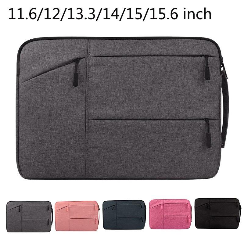 Laptop Bag Notebook Sleeve Case 13.3/14/15/15.6 Inch Handbag For Macbook Air 13 15 Pro 13 Lenovo Yoga Book Microsoft Surface