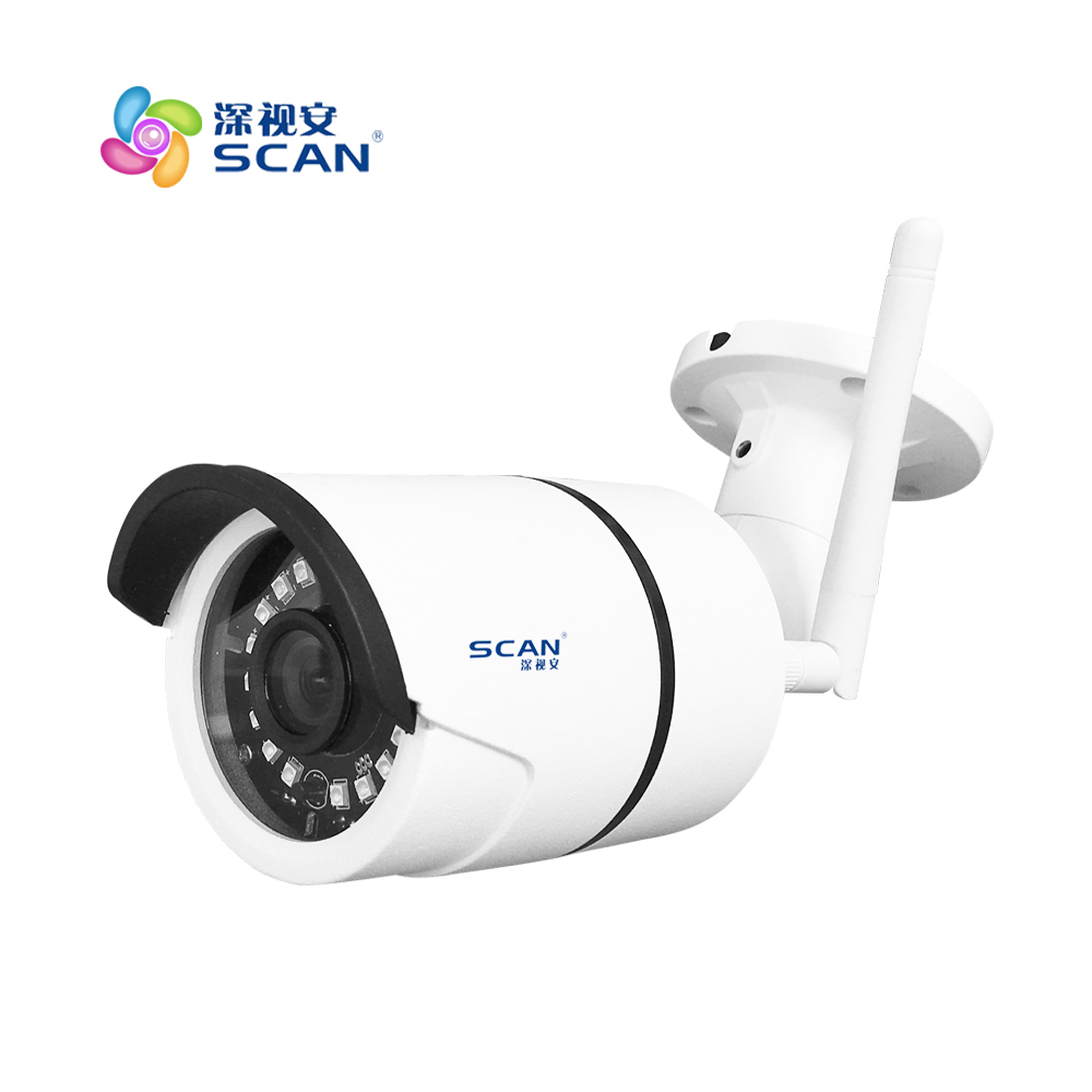 Hd 720p Bullet Ip Camera Wifi Motion Detection Outdoor Waterproof Mini Card Black Cctv Surveillance Security Freeshipping 720p dome ip camera wifi 1 0mp motion detection with sd card mini white cctv surveillance security built in mic freeshipping