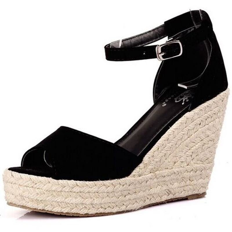 942eb71ac80ff Superior Quality Summer Style Comfortable Bohemian Wedges Women Sandals For Lady  Shoes High Platform Open Toe Flip Flops Plus