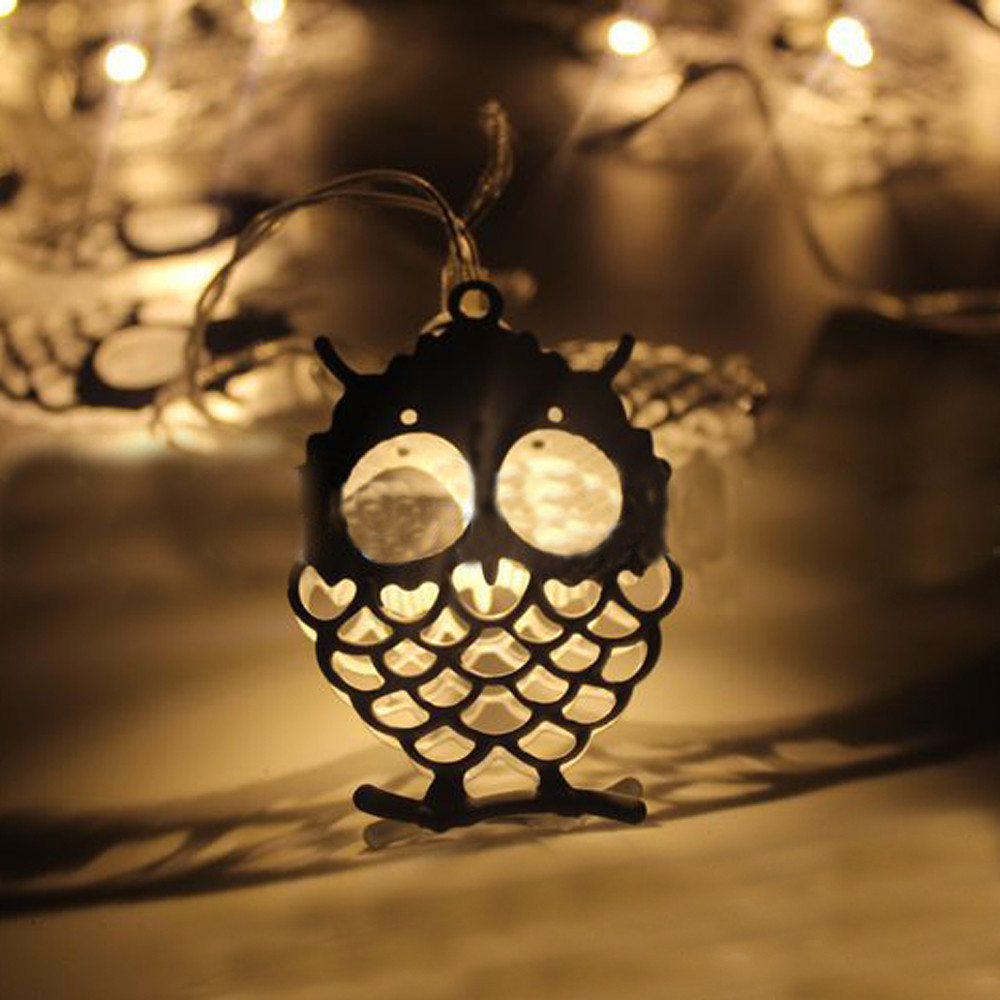 2017 New Quality Dropshipping 10 LED Halloween Christmas Wedding Party Decor Outdoor Fairy String Light Lamp &921