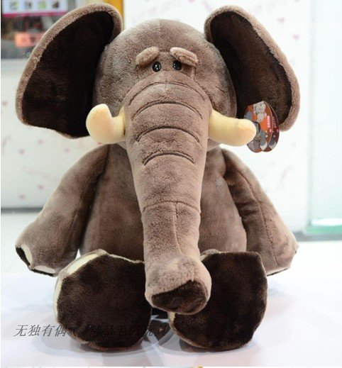 Nici plush toy stuffed doll cute elephant jungle series forest animal bed time night story birthday gift 1pc free shipping