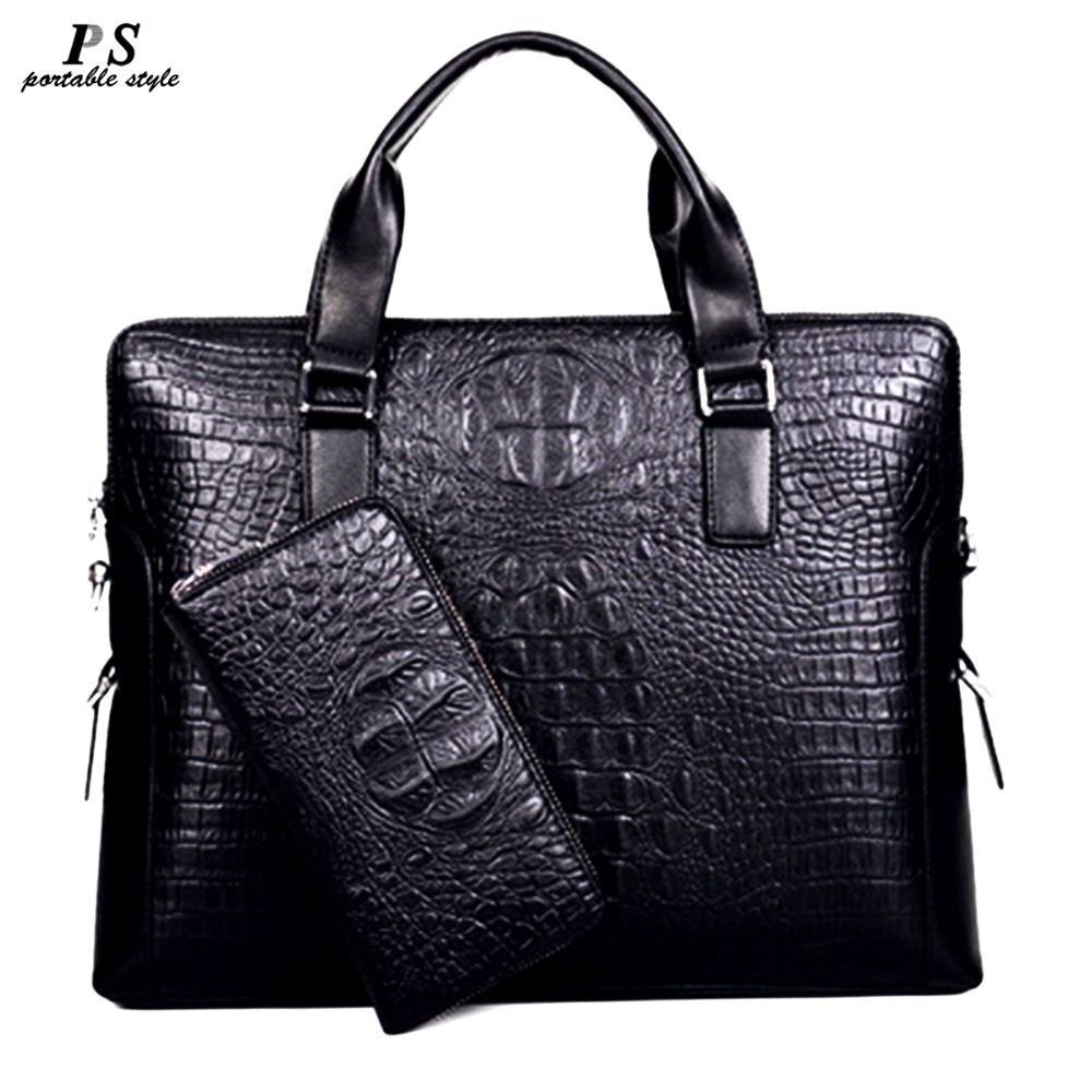 2019 New Men Messenger Bags PU Leather Bag Men Briefcase Designer Handbags High Quality Famous Brand Business Men Bag