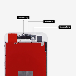Image 4 - 20 adet Sınıf AAA kalitesi Için iPhone 8 LCD yedek parça ekran Lens Pantalla Dokunmatik ekran Digitizer ile ücretsiz kargo