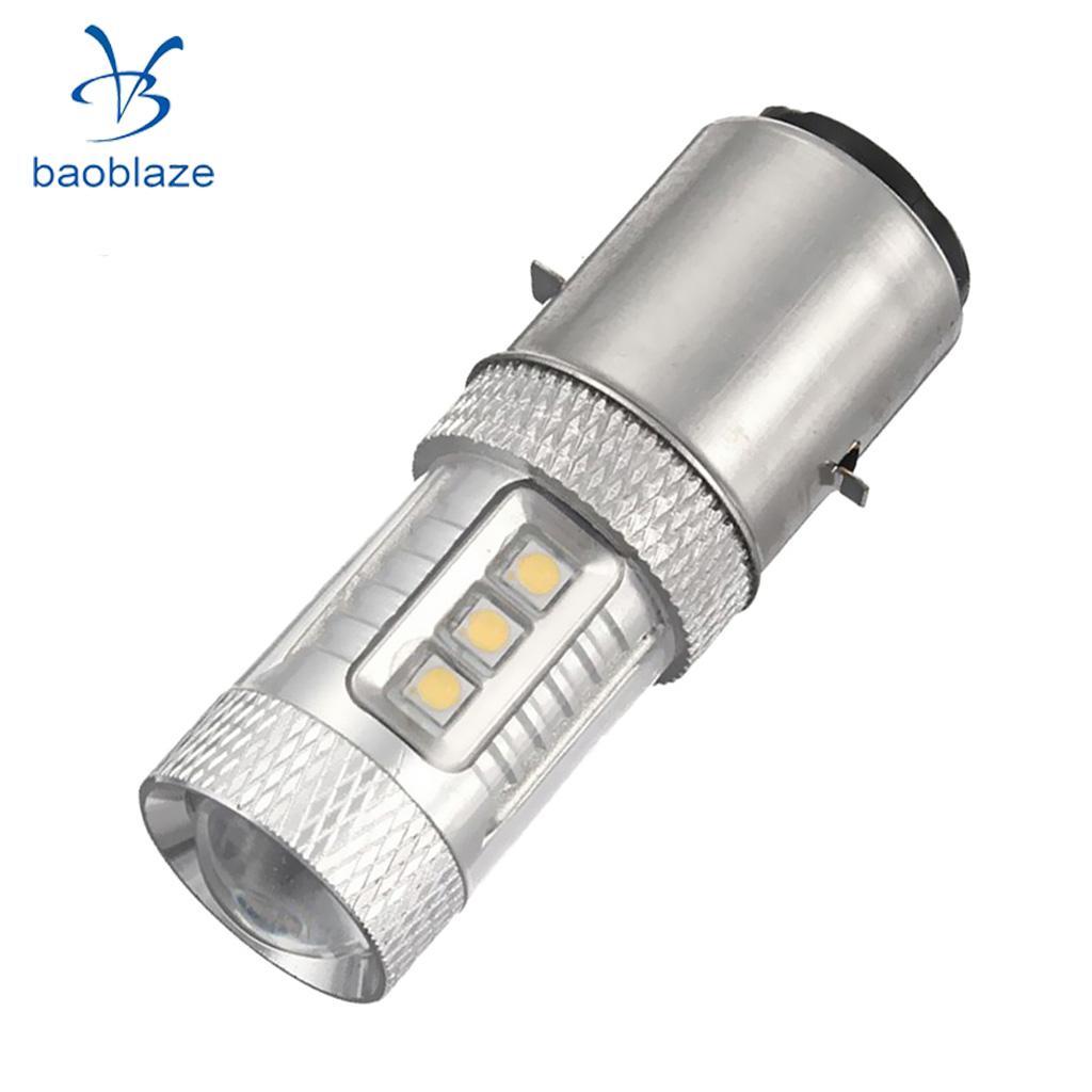 BA20D H6 H/L 80W 12V LED Motor Moped/Scooter/ATV Headlight Bulb Fog light конструктор pin ba ниндзя 2в1 12шт 6 видов 0210е 12