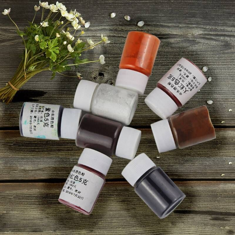 France imported DR toner Imported food flash edible powder water coloring Baking pigments Macarons  ingredients 24 colors 5gFrance imported DR toner Imported food flash edible powder water coloring Baking pigments Macarons  ingredients 24 colors 5g